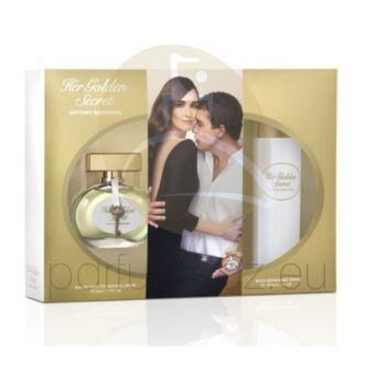 Antonio Banderas - Her Golden Secret női 50ml parfüm szett