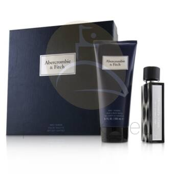 Abercrombie & Fitch - First Instinct Blue férfi 50ml parfüm szett  1.