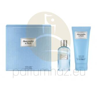 Abercrombie & Fitch - First Instinct Blue női 50ml parfüm szett  1.