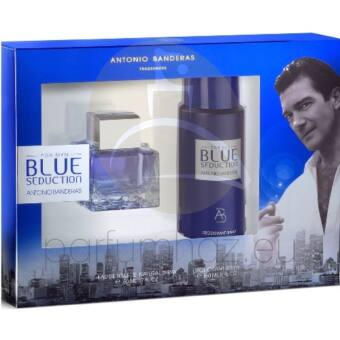 Antonio Banderas - Blue Seduction férfi 50ml parfüm szett