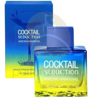 Antonio Banderas - Cocktail Seduction Blue férfi 100ml eau de toilette