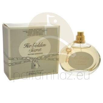 Antonio Banderas - Her Golden Secret női 80ml eau de toilette teszter