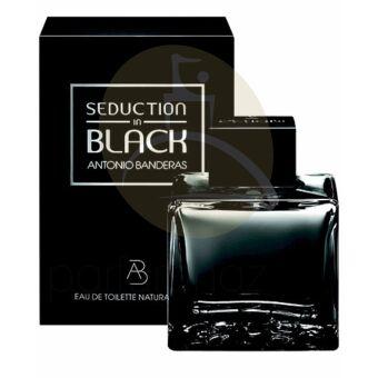 Antonio Banderas - Seduction in Black férfi 100ml eau de toilette