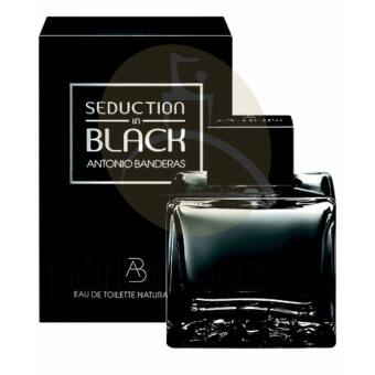 Antonio Banderas - Seduction in Black férfi 100ml eau de toilette
