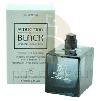 Antonio Banderas - Seduction in Black férfi 100ml eau de toilette teszter
