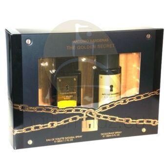 Antonio Banderas - The Golden Secret férfi 50ml parfüm szett