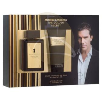 Antonio Banderas - The Golden Secret férfi 50ml parfüm szett  2.