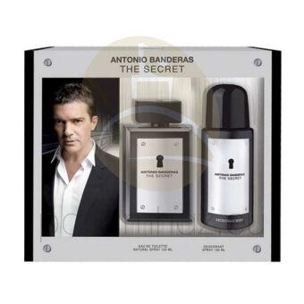 Antonio Banderas - The Secret férfi 100ml parfüm szett