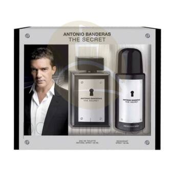 Antonio Banderas - The Secret férfi 100ml parfüm szett