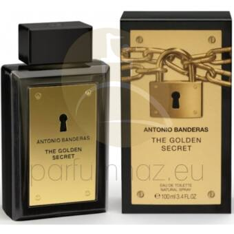 Antonio Banderas - The Golden Secret férfi 100ml eau de toilette