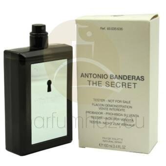 Antonio Banderas - The Secret férfi 100ml eau de toilette teszter