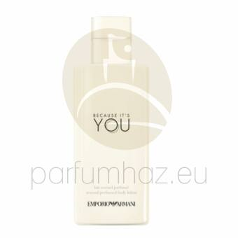 Giorgio Armani - Emporio Because It's You női 200ml testápoló