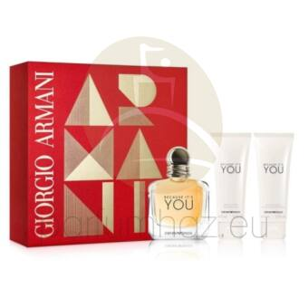 Giorgio Armani - Emporio Because It's You női 50ml parfüm szett  2.