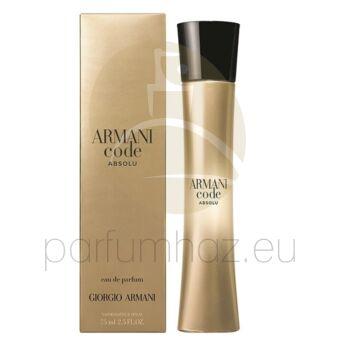 Giorgio Armani - Code Absolu női 30ml eau de parfum