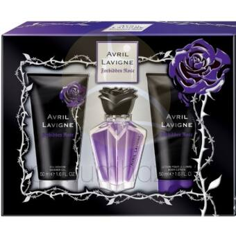 Avril Lavigne - Forbidden Rose női 15ml parfüm szett