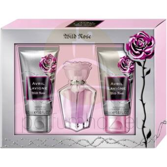 Avril Lavigne - Wild Rose női 15ml parfüm szett