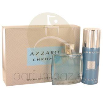 Azzaro - Chrome férfi 100ml parfüm szett  4.