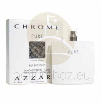 Azzaro - Chrome Pure férfi 100ml eau de toilette teszter