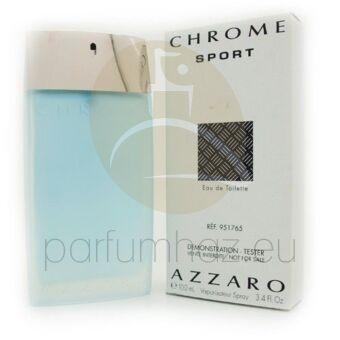 Azzaro - Chrome Sport férfi 100ml eau de toilette teszter