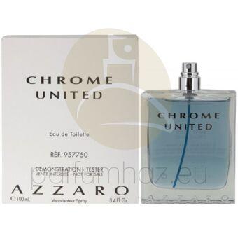 Azzaro - Chrome United férfi 100ml eau de toilette teszter