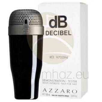 Azzaro - Decibel férfi 100ml eau de toilette teszter