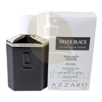 Azzaro - Silver Black férfi 100ml eau de toilette teszter
