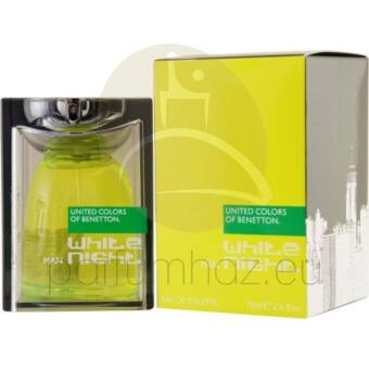 Benetton - White Night férfi 75ml eau de toilette teszter