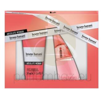 Bruno Banani - Absolute Woman női 20ml parfüm szett   1.
