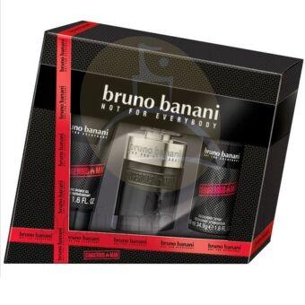 Bruno Banani - Dangerous Man férfi 30ml parfüm szett