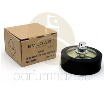 Bvlgari - Black unisex 75ml eau de toilette teszter