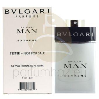 Bvlgari - Man Extreme férfi 100ml eau de toilette teszter