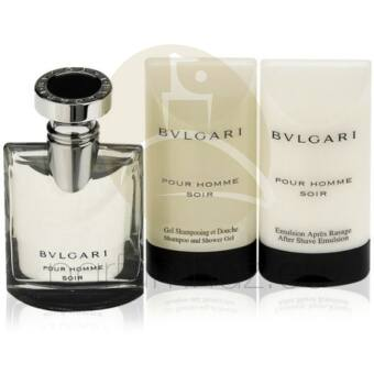 Bvlgari - Pour Homme Soir férfi 50ml parfüm szett