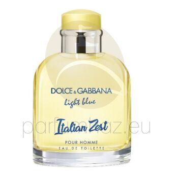 Dolce & Gabbana - Light Blue Italian Zest férfi 125ml eau de toilette teszter