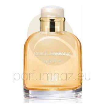 Dolce & Gabbana - Light Blue Sun férfi 125ml eau de toilette teszter