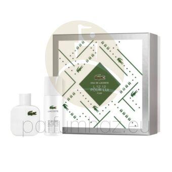 Lacoste - Eau De Lacoste L 12. 12 Blanc férfi 50ml parfüm szett  4.