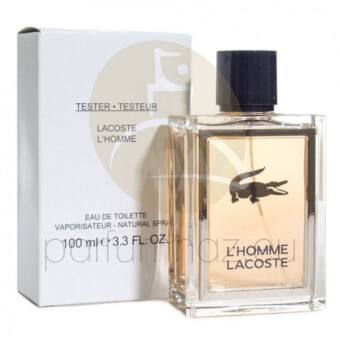 Lacoste - L'Homme Lacoste férfi 100ml eau de toilette teszter