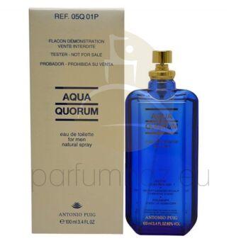 Antonio Puig - Aqua Quorum férfi 100ml eau de toilette teszter