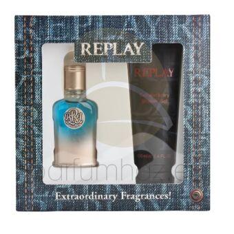 Replay - True Replay férfi 30ml parfüm szett  1.