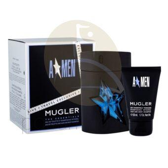 Thierry Mugler - A Men Rubber férfi 100ml parfüm szett  2.