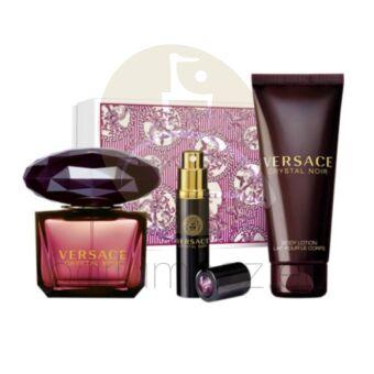 Versace - Crystal Noir női 90ml parfüm szett  15.